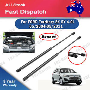 FORD TERRITORY Bonnet Gas Struts For SX SY 4.0L 05/2004 - 05/2011