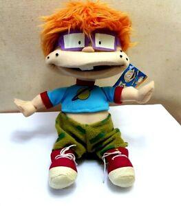 Rugrats Chuckie Soft Toy Plush With The Original Tag 2001 Viacom