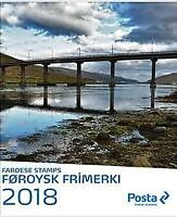 Faroe Islands 2018 Year Pack, Year Set MNH**