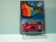 TOMICA FERRARI FIAT racing on Blue card MADE FOR G.J COLES  MELBOURNE AUSTRALIA