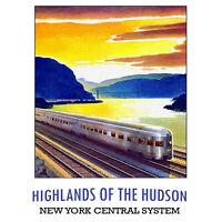 TRAVEL TOURISM SCOTLAND STRATHSPEY RAIL TRAIN LMS HIGHLANDS PRINT LV4300