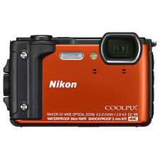 Nikon COOLPIX W300 16MP 4k Ultra HD Waterproof Digital Camera (Orange)