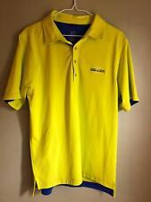 Royal St. Kitts Club Golf Shirt Mens M Polo Zero Restriction Tour Series Yellow