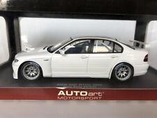 1:18 AUTOart BMW 320i WTCC Plain Body Version
