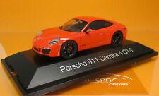 Herpa 071468 Porsche 911 Carrera 4 GTS lavaorange Scale 1 43