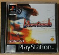 Liberogrande PS1 PlayStation 1 PAL Game Complete Black Label Namco Football , A9