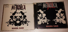 Metallica: RARE U.K. import singles 2 cd set (mama said) 1996 virtigo