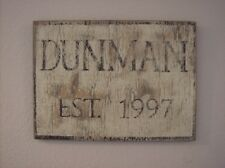 Vintage look Personalized Family plaque/Front porch/Garden/custom Family name