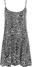 Paisley Pattern Viscose Sleeveless Tops & Shirts for Women