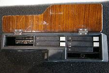 Mercedes 190E 190D W201 - Kassettenfach Mittelkonsole mit Zebrano Holz Abdeckung