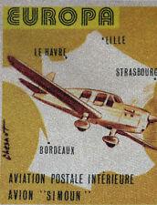 Plane Simoun France Envelope Premier Day 1° FDC yt 2047