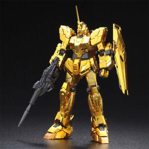 Bandai Gundam RG Unicorn Gold Coating Base Limited 1/144 Model Kit