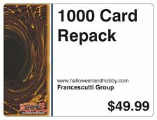 Yugioh 1000 Cards VALUE PACKAGE LOT RANDOM BOX PACK REPACK BOOSTER COLLECTION