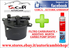 KIT FILTRO GASOLIO + ADDITIVO PROTETTIVO WURTH CARBOPUMP SPORT LAND ROVER EVOQUE