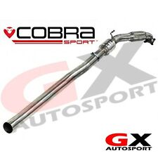 Au27 COBRA SPORT AUDI TT (Mk2) 2.0 TFSI (2WD) 2006-11 tubo anteriore catalizzatore sportivo