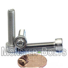 M5 x 25mm - Qty 10 - DIN 912 SOCKET HEAD Cap Screws - Stainless Steel A2 / 18-8