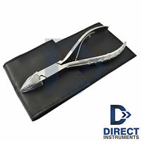 Chiropody Ingrown Toe Nail Nipper Clipper Cutter Pedicure Podiatry Leather Pouch