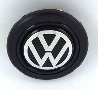 Volkswagen VW steering wheel horn push button. Fits Momo Sparco OMP Nardi Raid