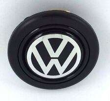 Volkswagen VW steering wheel horn push button. Fits Momo Sparco OMP Nardi Raid