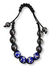 Scottish St. Andrews Sautoir Drapeau Shamballa Strass Boule Bracelet Cadeau