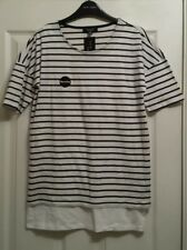 Bnwt New Look Women's/Ladies Short Sleeve Maternity Top Size 10