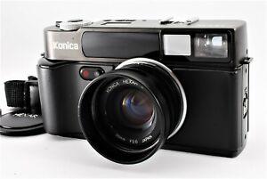 【 près De Mint 】 Konica Hexar Af Noir 35mm Télémètre Caméra à Film De Japon #412