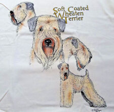 "Soft Coated Wheaten Terrier T-shirt "" White "" 2Xl ( 50 ~ 52 )"