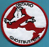 Ontario Canada - Ghostbusters No Ghost Embroidered Iron On Patch