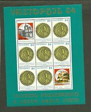 FOGLIETTO IPZS 1984 ERINNOFILO VASTOPHIL 84 MANIFESTAZIONE FILATELICA