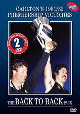 AFL - Carlton : Back To Back (DVD, 2011, 2-Disc Set)