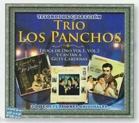 Trio Los Panchos CD NEW Tesoros De Coleccion SET De 3 CDs Rare SEALED