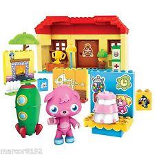 Mega Bloks Blok Moshi Monsters W/ Poppet - 80627 Monsters House Playset 79 pcs