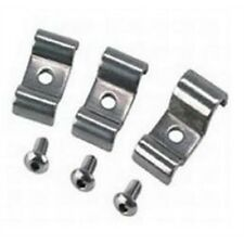 stainless steel 3/16 dual brake line clamps