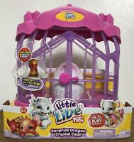 Little Live Pets Surprise Dragon Crystal Cage Watch Your Dragon Hatch New
