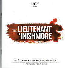 The Lieutenant of Inishmore ,Aiden Turner,1 theatre programme ,1 flyer,1  guide.