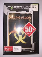 Killing Floor Pc Game Mint Condition - FREE & FAST POST OZ SELLER 🇦🇺