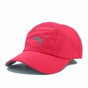 Accessories Womens Puma Daily Adjustable Strap Golf Cap in Pink
