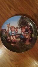 Apple Tree Boy & Girl - Hummel Little Companions 8 Inch Collector Plate