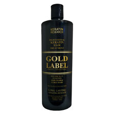 Gold Label Keratin hair Blowout treatment 1000ml for Domincan and African Hair