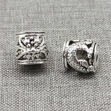 2pcs of 925 Sterling Silver Dragon Barrel Beads for Bracelet