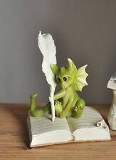 Miniature Dragon Writing TO 4039 Dollhouse Miniature Fairy  Hobbit Garden