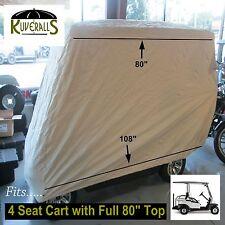 PREMIUM HEAVY DUTY 600 Denier Large Golf Cart Storage Cover W/ Bag, Kuveralls