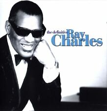 RAY CHARLES the definitive (2X CD album) EX/EX 8122 73556-2 best of greatest