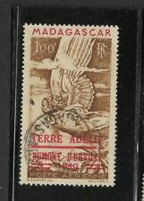 Malagasy Republic Scott #C54 used 100fr airmail 1948 Madagascar cds cancel f/vf