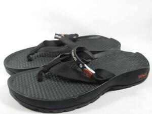 Teva Guide Flip Flop Water Sport Sandal Men size 9 Black