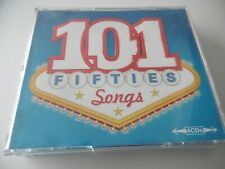 101 FIFTIES SONGS 4 CD BOX SET SINATRA ANKA COMO FAITH PRESLEY LAINE DAY FATS