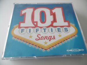 101 Années Chansons 4 CD Box Set Sinatra Anka Como Faith Presley Laine Day Fats