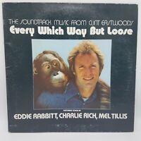 Every Which Way But Loose Original Soundtrack LP Vinyl 1978 Elektra 5E-503 VG+