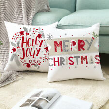 Home Art Sofa Car Pillow Case Covers Christmas Festival Decors Cushion Covers