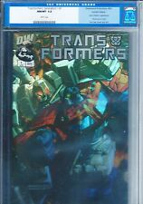 TRANSFORMERS: GENERATION 1 #1 CGC 9.8 HOLOFOIL EDITION